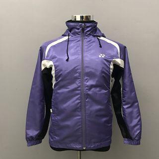 Yonex Windbreaker Hoodie Purple Jacket
