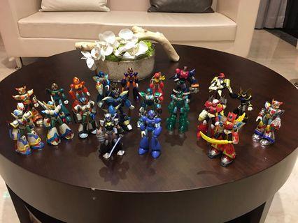 洛克人-艾克斯 傑洛 鎧甲 魔王模型 玩具