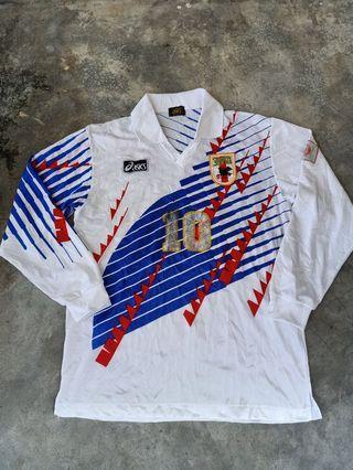 Vintage jersey JFA ASICS soccer
