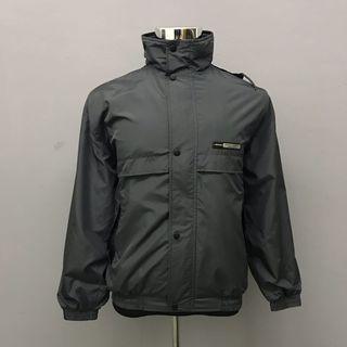 Dunlop Windbreaker Hoodie Gray Jacket