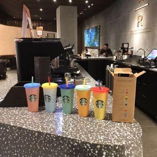 COLOUR CHANGING REUSABLE CUP