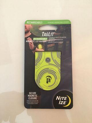 Led marker  rechargeable tag lit nite ize cocok buat night runner