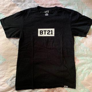 BT21 x UNIQLO T-SHIRT {BLACK}