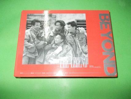 CD BEYOND : THE LEGEND ALBUM COLLECTION (3CD + DVD LIVE 1989 + 60P PHOTO ALBUM) WONG KA KUI CANTO ROCK