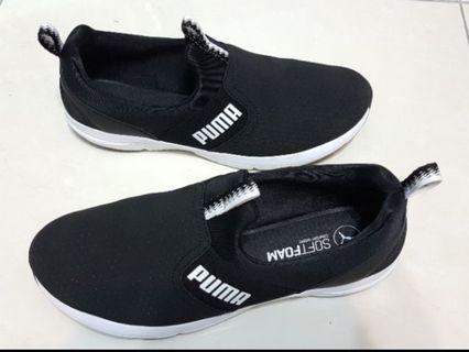 大尺碼 25.5 cm PUMA SOFTFOAM 軟底鞋墊舒適 女鞋