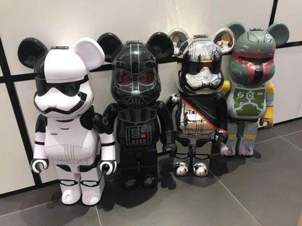 Medicom Bearbrick star wars 1000% size original Japan