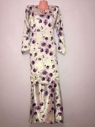 Baju Kurung Silk Cina