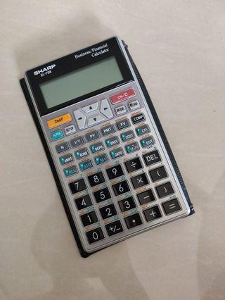 Sharp EL-738 Business/Financial Calculator