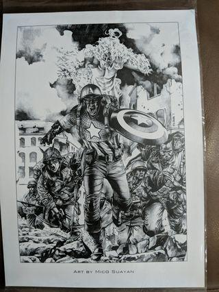 Collectible Art print , Marvel by Mico Suayan