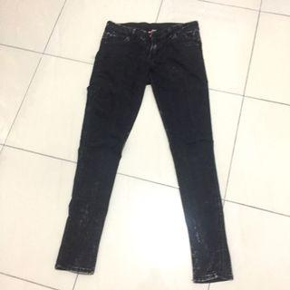 HnM Black Jeans / Celana Jeans Hitam HnM