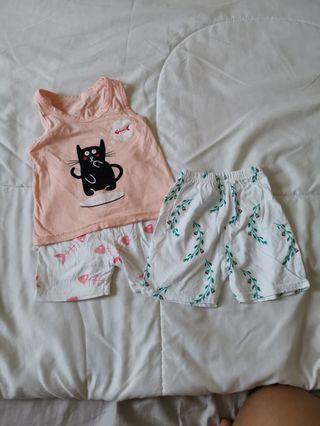 Brand new shorts FOC singlet