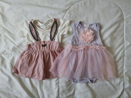 Bundle baby girl dresses