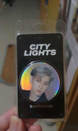Baekhyun 伯賢CITY LIGHTS手機扣環