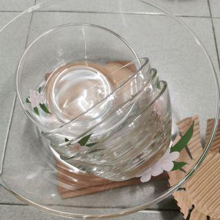 Glass Bowl / Salad Bowl
