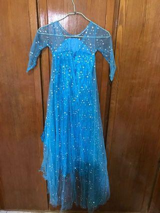 冰雪公主艾莎洋裝