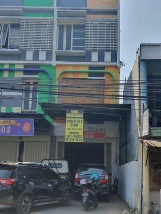 Dijual ruko lokasi di jl Gajayana Malang