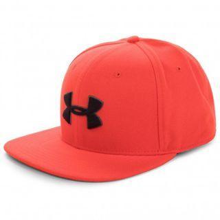 """UA Huddle Snapback 2.0 Cap"" Under Armour UA 全新 紅色 棒球帽 平沿帽 老帽 運動帽 球帽 帽子 1318512"