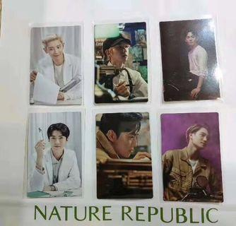 EXO Nature Republic Photocard