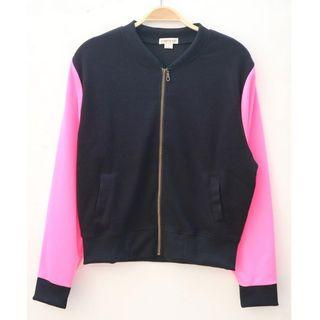 CHROMA TALE Jacket Black Pink