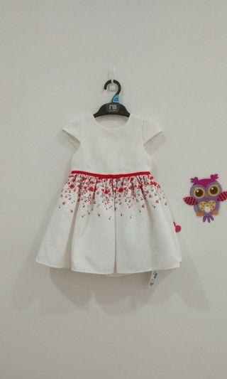 🆕2-3Y Mothercare Brocade Dress