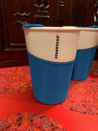 Starbucks Blue Summer Cup with Lid