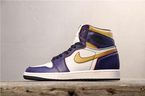 """喬丹/Air Jordan AJ1喬丹1代喬1NikeSB x AirJordan1 High OG """"Court Purple""""貨號:CD6578-507喬1刮刮樂黃紫 36-46"""