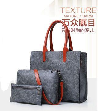Elle Handbag Sets Sling Bag Purses 4 Colors
