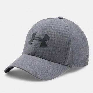 """Men's UA CoolSwitch ArmourVent™ 2.0 Cap"" Under Armour UA 全新 灰色 棒球帽 鴨舌帽 老帽 運動帽 球帽 帽子 1291856"