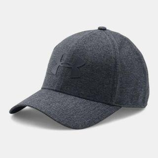 """Men's UA CoolSwitch ArmourVent™ 2.0 Cap"" Under Armour UA 全新 黑色 棒球帽 鴨舌帽 老帽 運動帽 球帽 帽子 1291856"