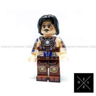Lego Compatible Marvel Minifigures : Anton Vanko