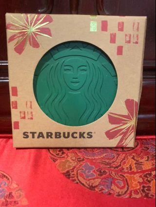 Starbucks Coaster (Made from recycled coffee grounds)