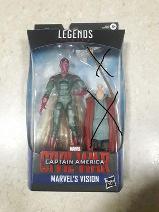 Marvel Legends End game wave 3 - Phasing Vision (Without BAF)