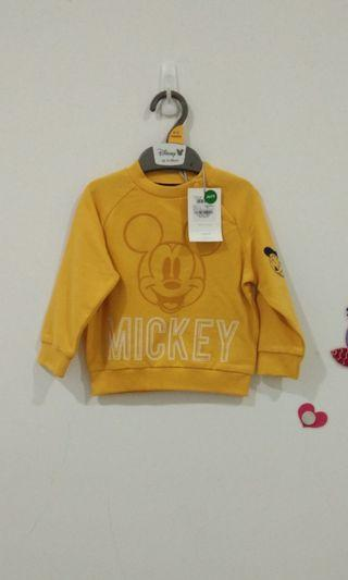 🆕9-12M Mothercare Mickey Jumper