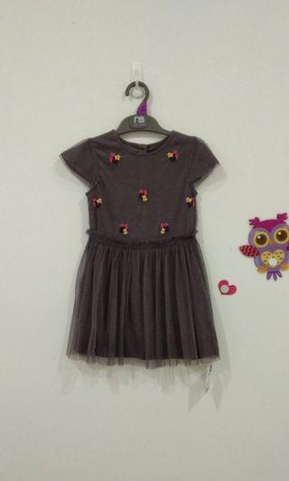 🆕3-4Y Mothercare Tulle Dress