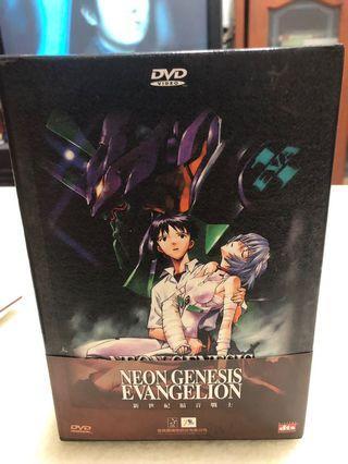 全新日本卡通動畫《新世紀福音戰士》9DVD TV版 (全26話+特典DVD)