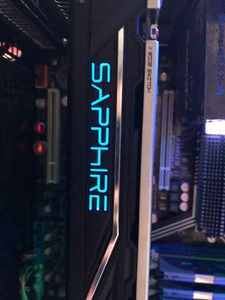 RX470 8gb Sapphire nitro + Radeon
