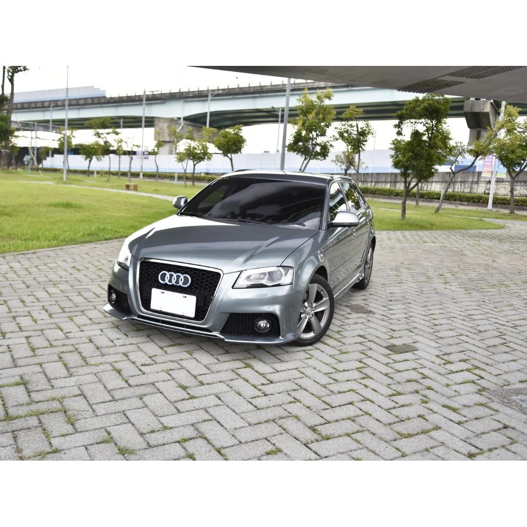 2010 Audi A3 1.8T RS3 look