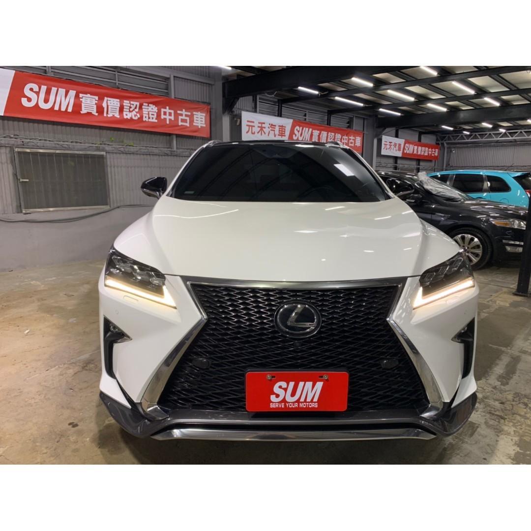 2016年 Lexus RX200t 2.0 白
