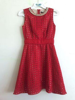 Dress Merah murah