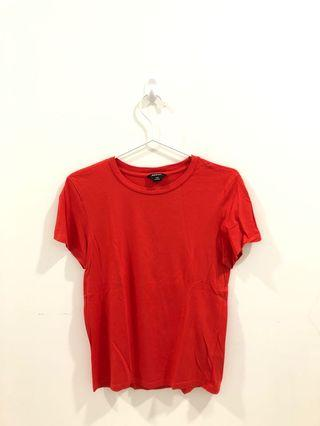 Monki Bright Red Top