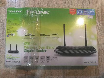 TP-LINK Archer C2 AC750 Wireless Dual Band Gigabit Router