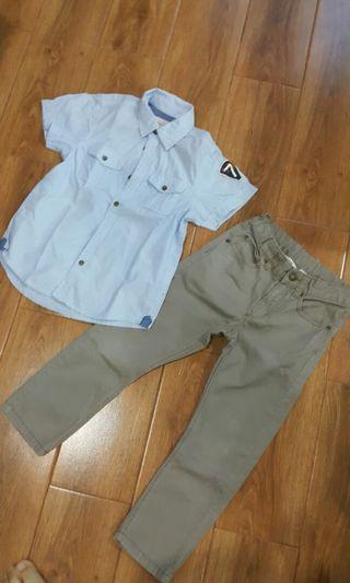 Set Kemeja+ celana