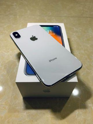 iPhone X 64GB silver RM2400