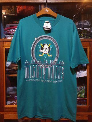 Vintage Deadstock NHL Anaheim Mighty Ducks Tshirt