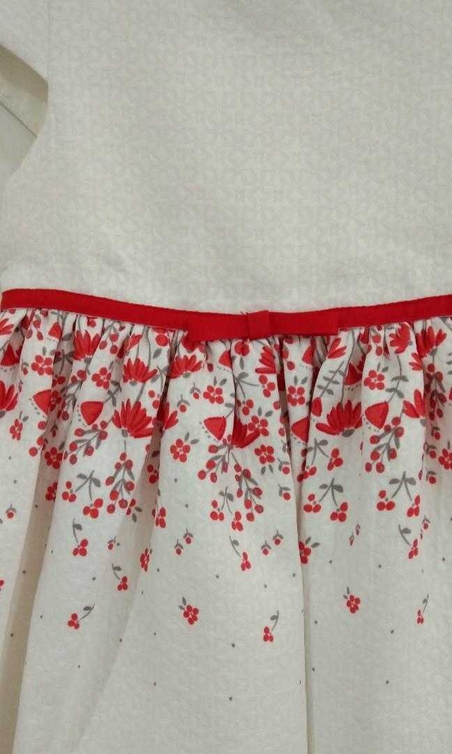 🆕2-3Y Mothercare Brocade Dress