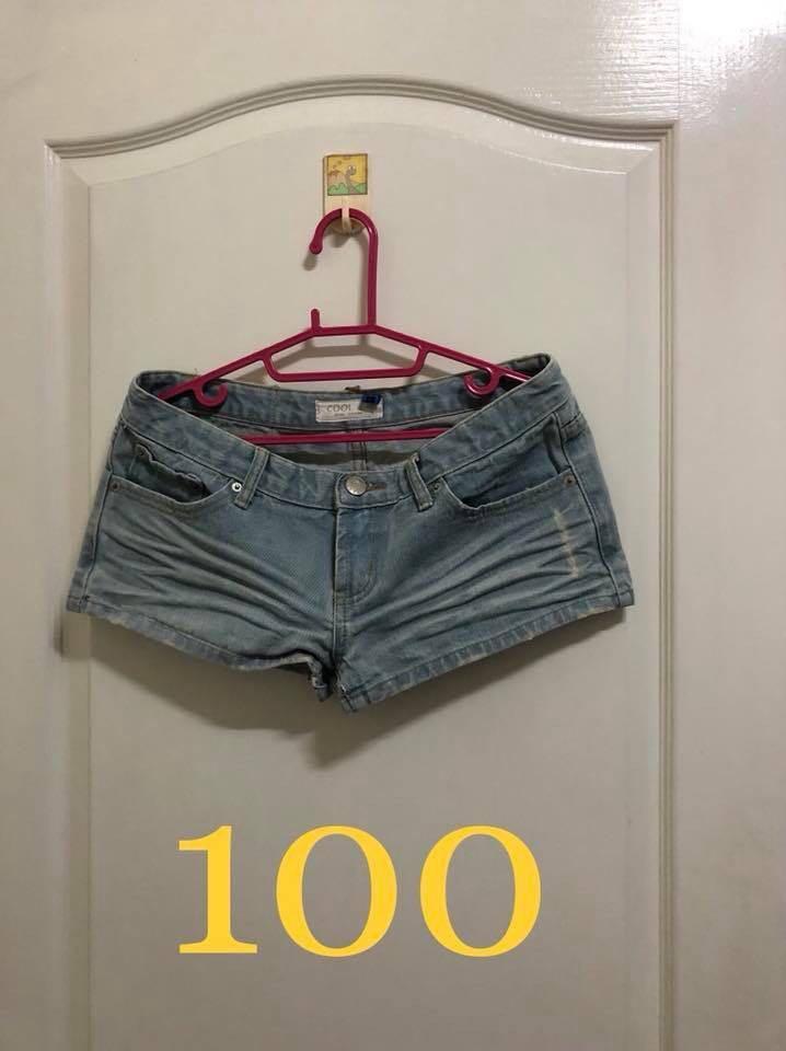 牛仔短褲-2