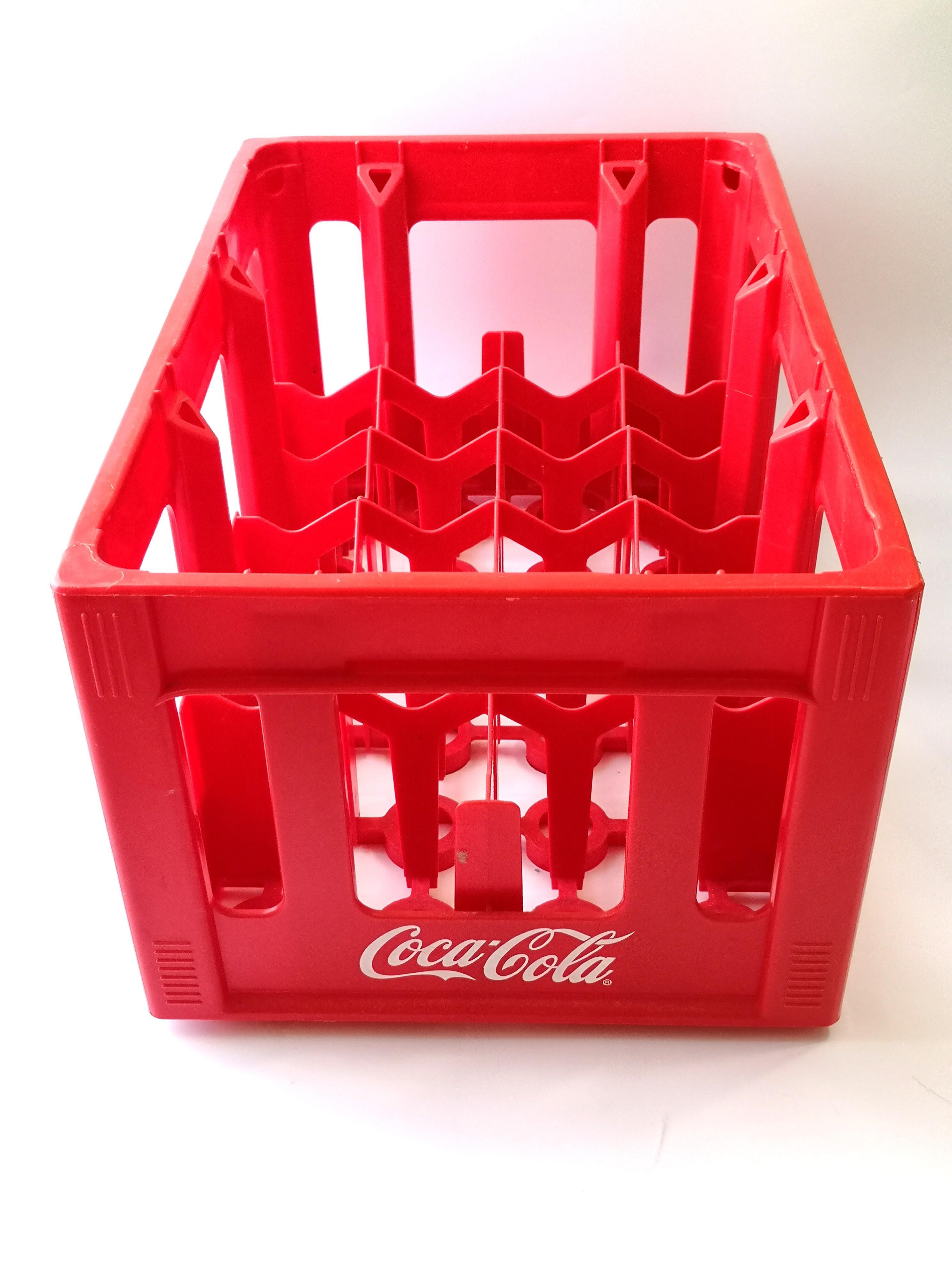 3 x Coca-cola Coke Plastic Crate