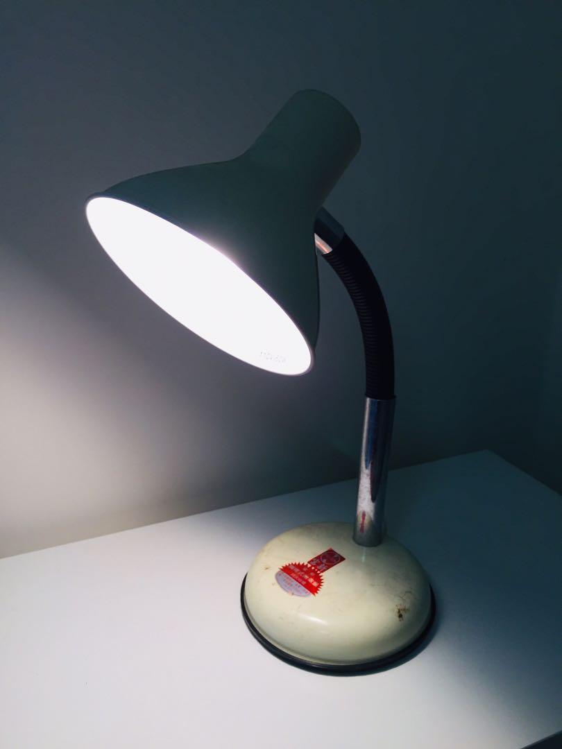 台灣早期文青風普普風檯燈桌燈老燈