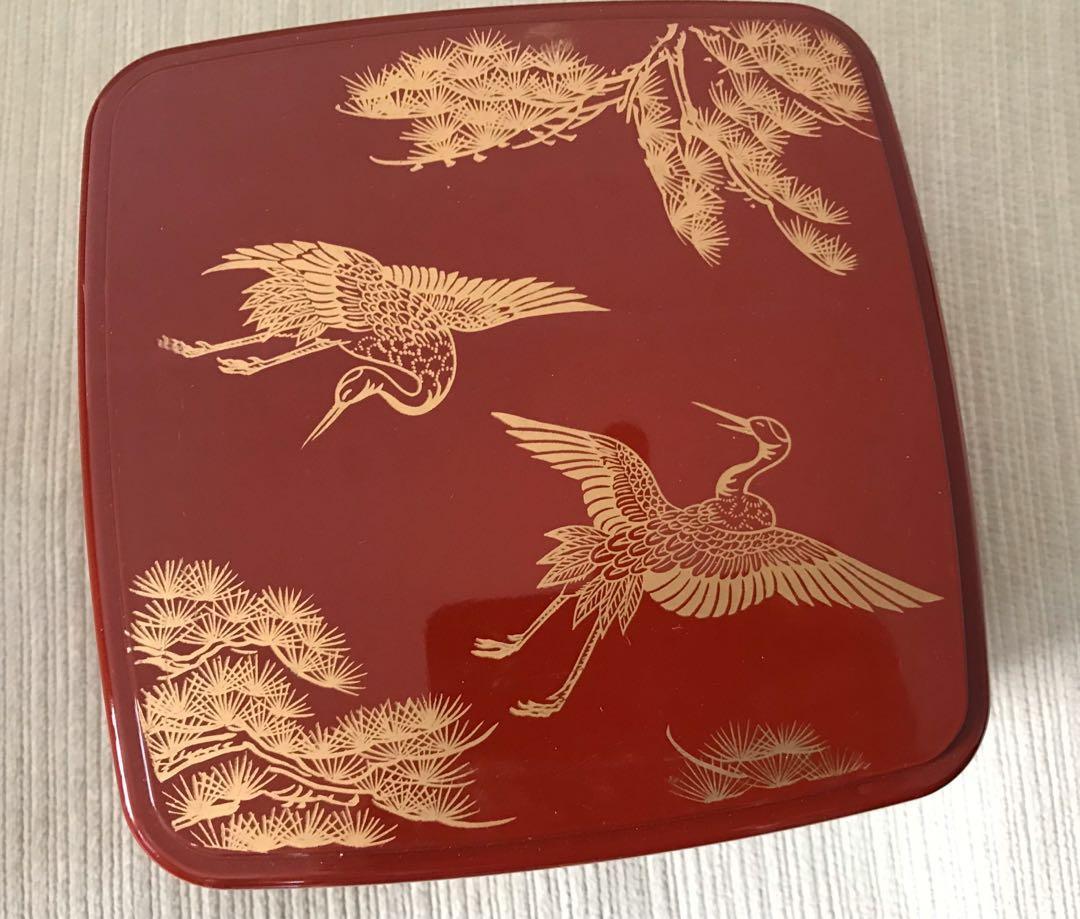 日式兩層飯盒,購自日本