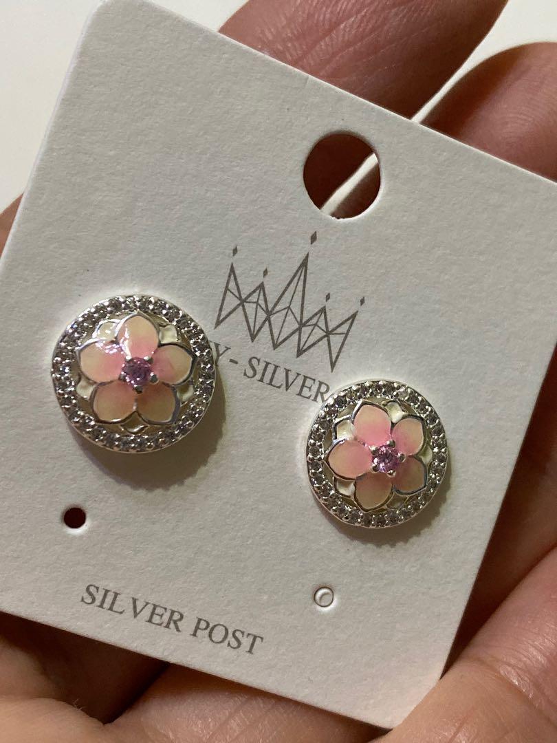 純銀Accessorize Earrings